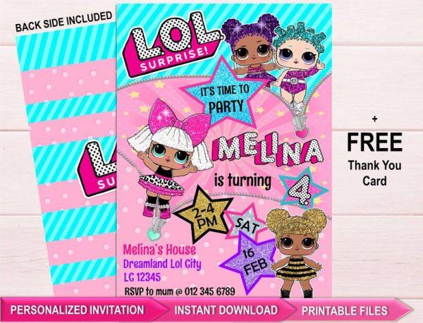 LOL Surprise Dolls Birthday